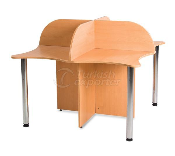 Library Furnitures D04-010801