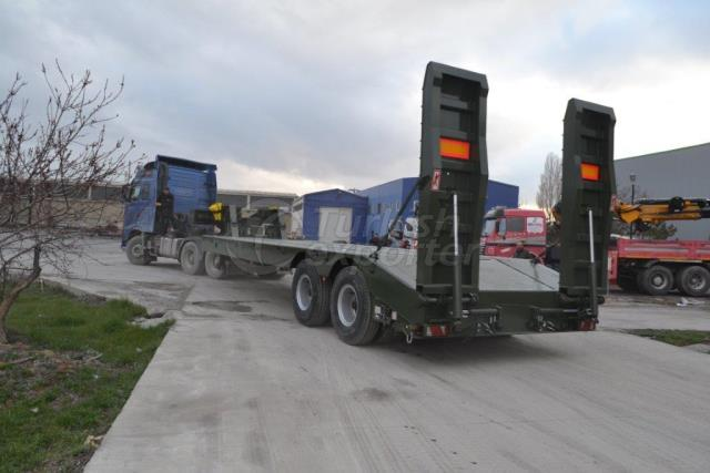 2 Axel Lowbed Semi Trailer