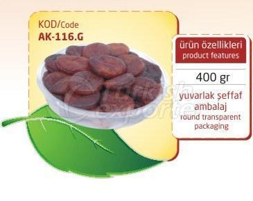 Albaricoque Seco AK 116 G 400gr