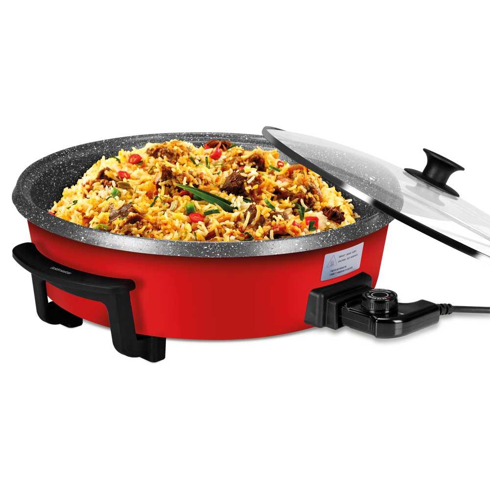 Bandeja eléctrica para cocinar y pizza Bereket