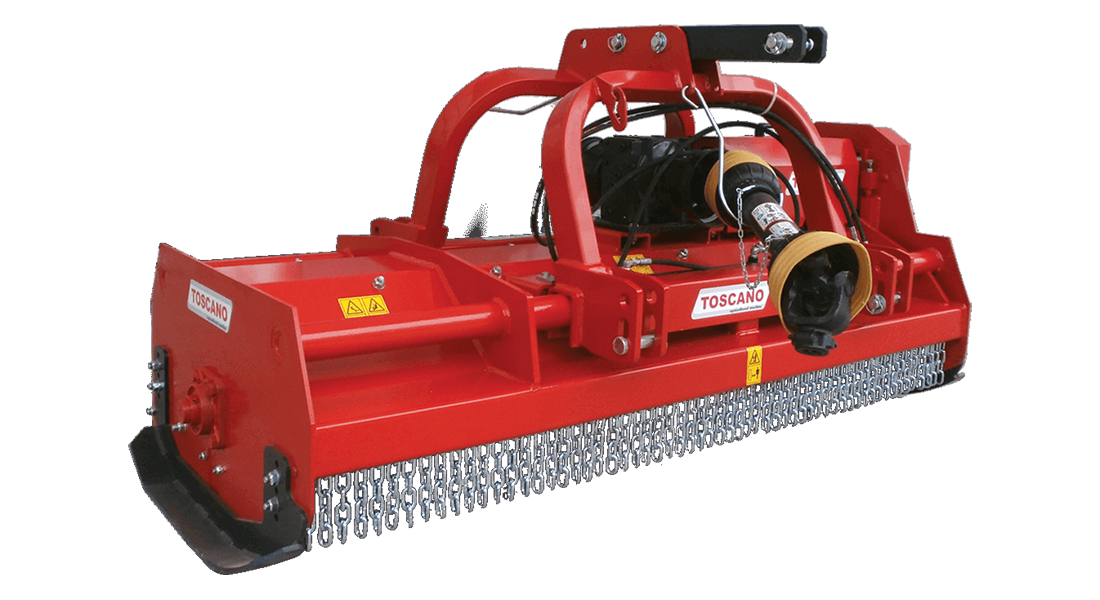 DOUBLE SIDED FORESTRY MULCHER
