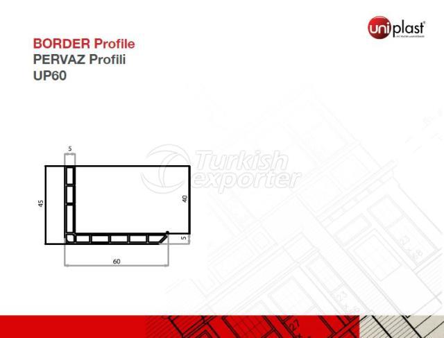 Pervaz Profili UP60