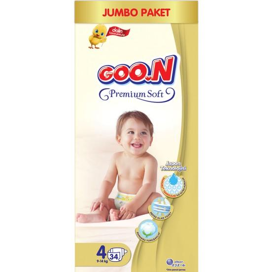 GOON  premium soft jumbo pack size :4