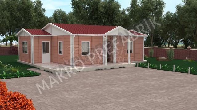 Префабричный дом 72 m²
