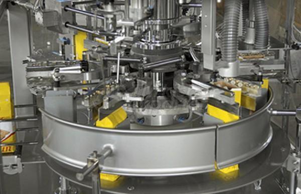 Système de remplissage automatique de farine contrôlé par PLC