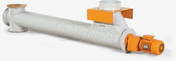 Transportador de parafuso do tubo