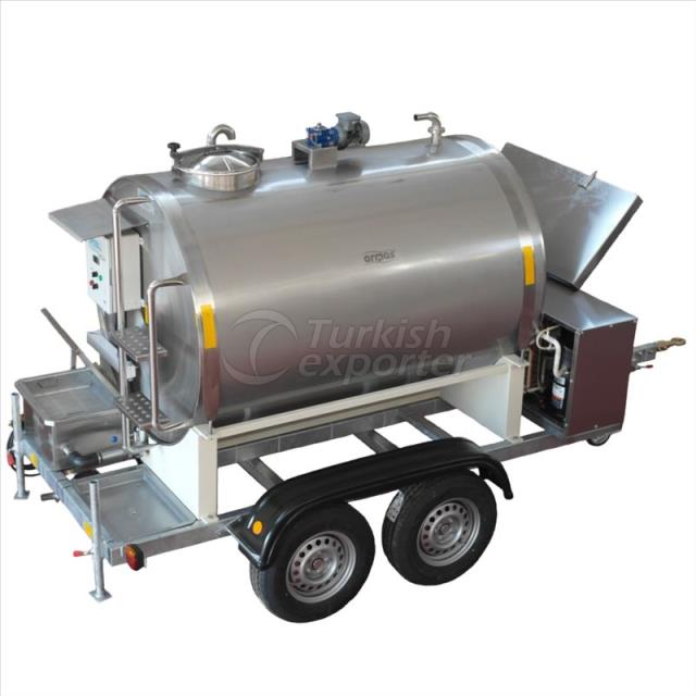 Mobil Milk Cooling Tank