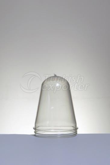 Bocal en plastique préformé 115 grammes