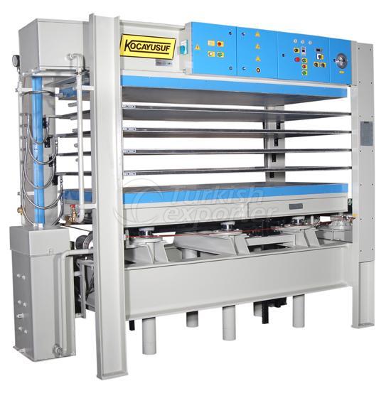Hot Press - Woodworking Machine