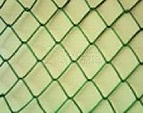 Clôture de fil de PVC