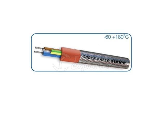 Silicone Insulated Galvanized Steel Wire Armouring Cable