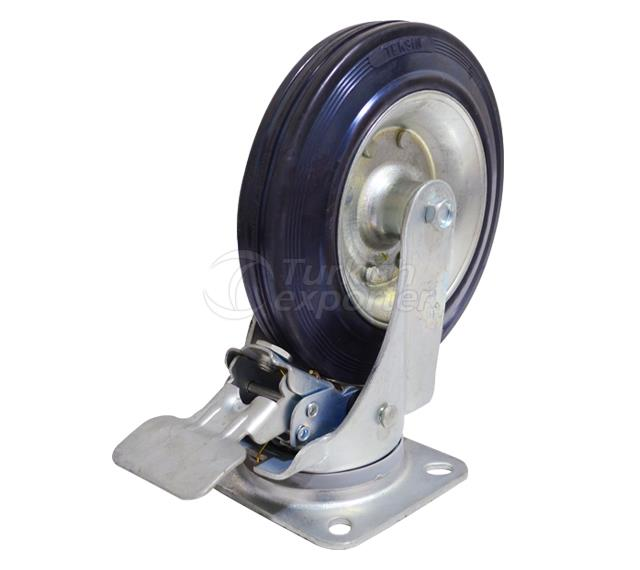 200x50 Swivel Wheel With Brake