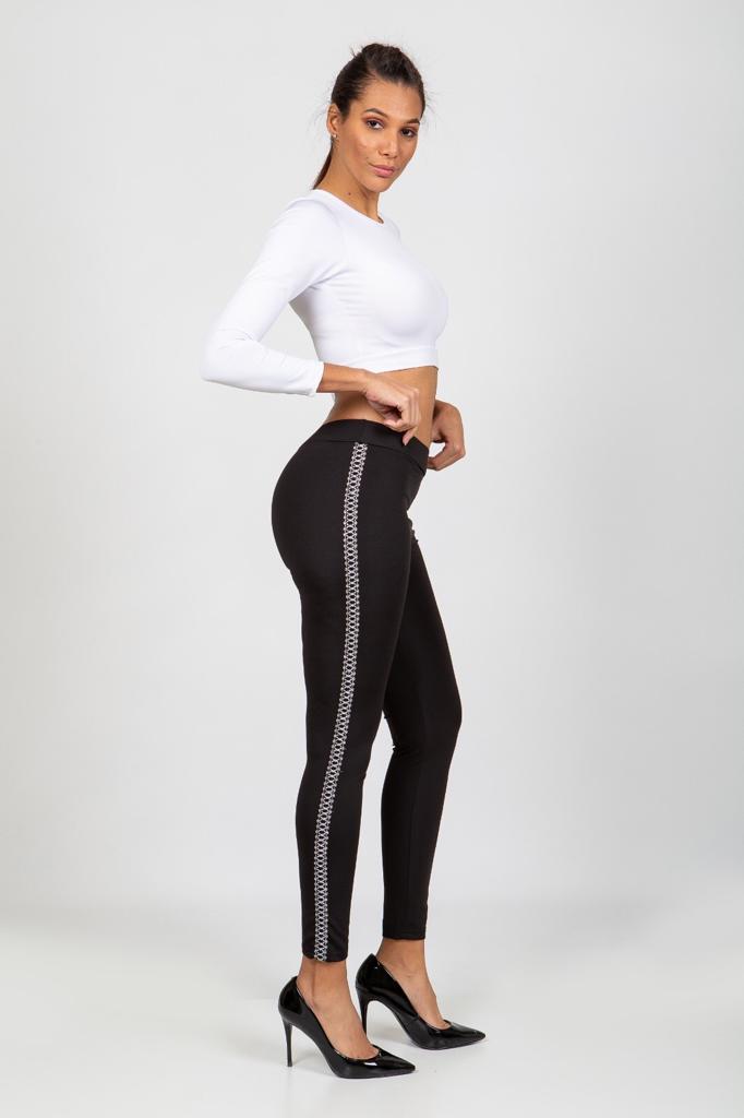lady printed tights