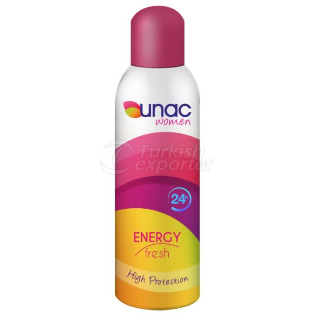 Un7007 - Unac Women Deo Energy, 200ml