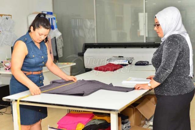 Production textile