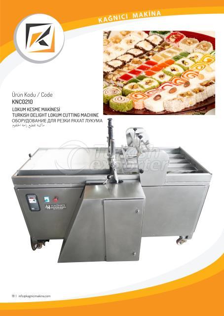 Turkish delight cutting machine