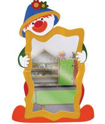 Miroir de clown