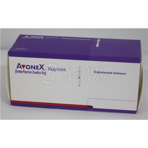 AVONEX 30 MCG/0.5 ML INJ PEN