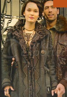 Women - Men Leather Reefer Jacket