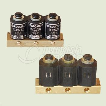Electric 3 Part (12 V) Set Manual Switch On-Off  - 01 312 0