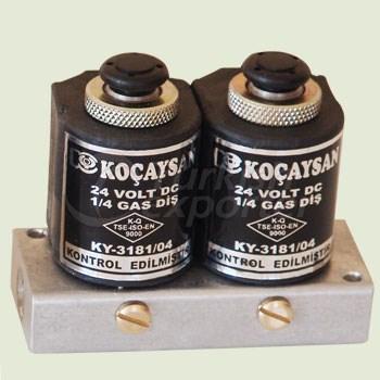 Electric 2 Part (12 V) Set Sabko Manual Switch On-Off  - 01 212 1