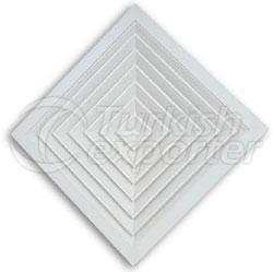 Square Ceiling Diffuser Type 2