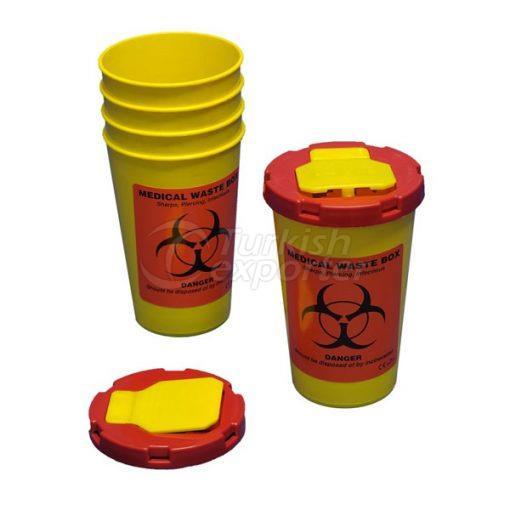 1 Contenedor de residuos médicos LT