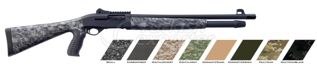 Pump Action Shotgun  -RS-A2 Skull (half)