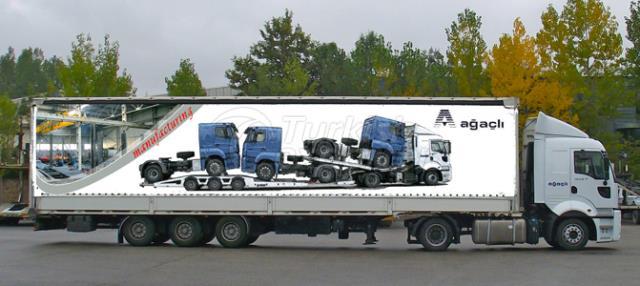 Taut Trucking Rig Transportation