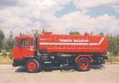 Camiones de aguas residuales
