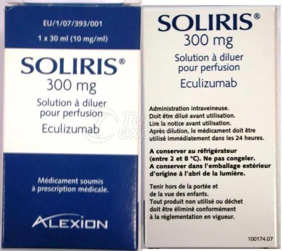 SOLIRIS 300 MG -1- VIAL