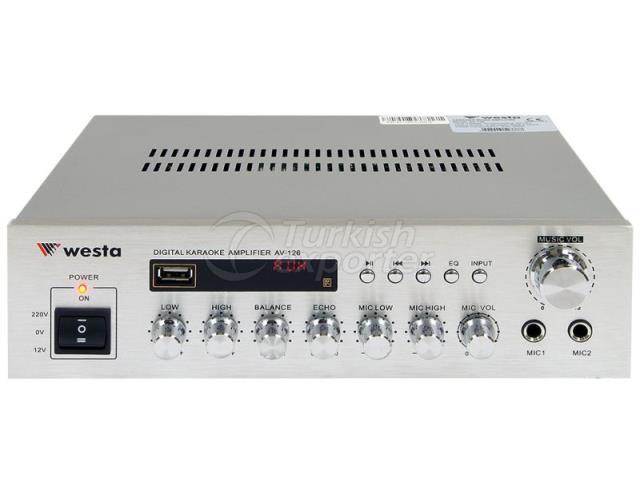 Amplifier Digital Karaoke AV-126