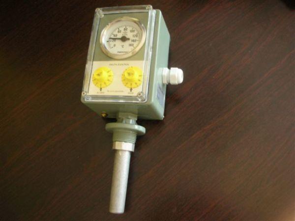 Thermomètre à deux contacts DTS-12