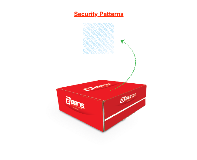 Self-Seal Secured Boxes