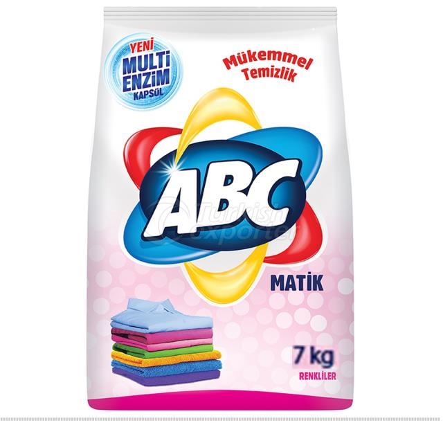 Détergent en poudre ABC Matik 7 kg