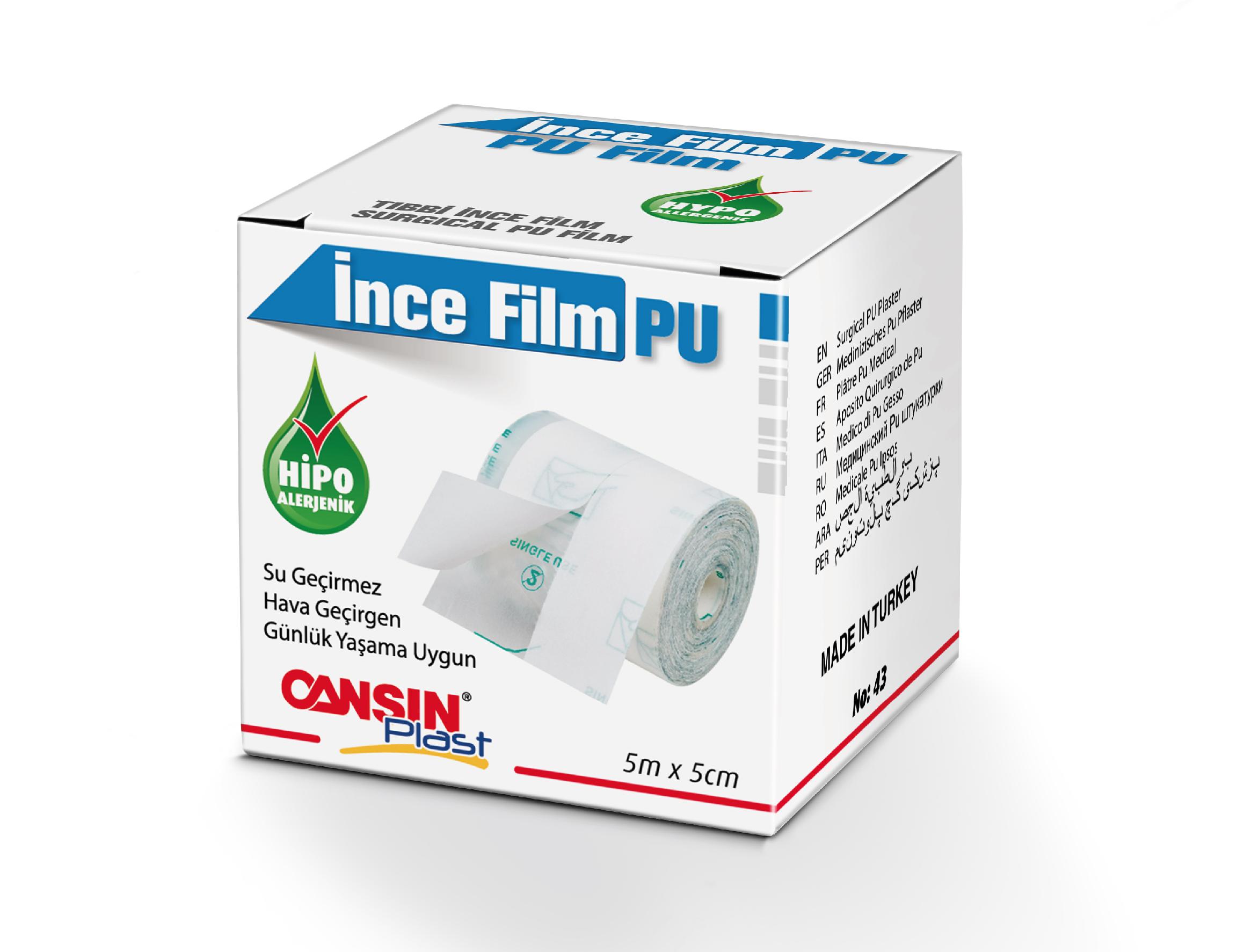 Surgical Polyurethane (PU) Film