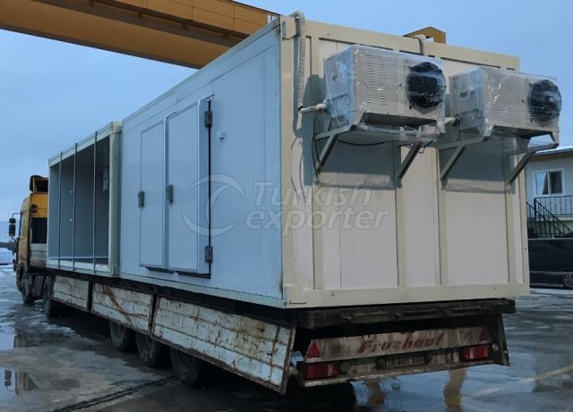 container cold room 2freezer 1 cold