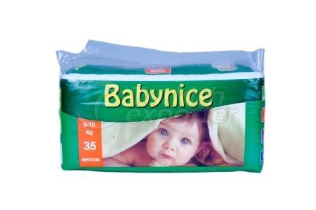 Couches bébé BABYNICE 3 MIDI