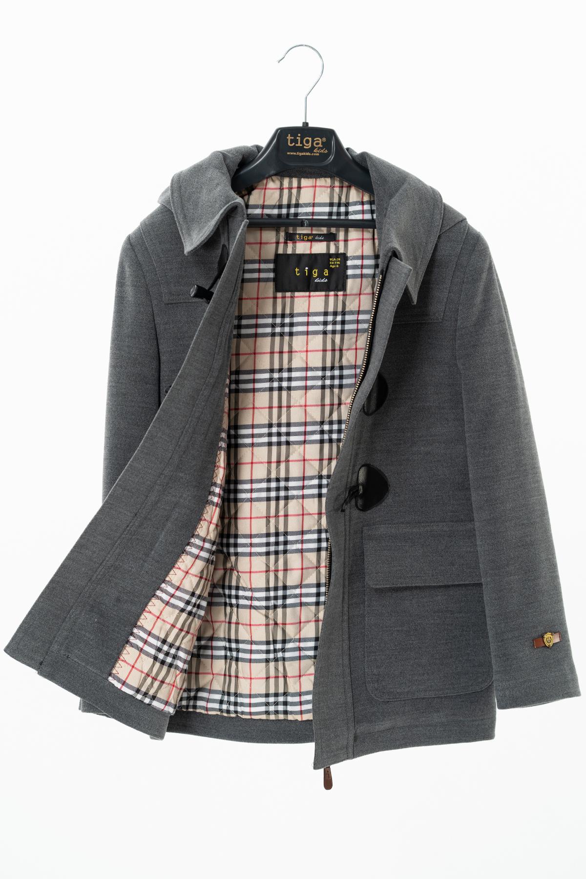 Grey Kids Coat