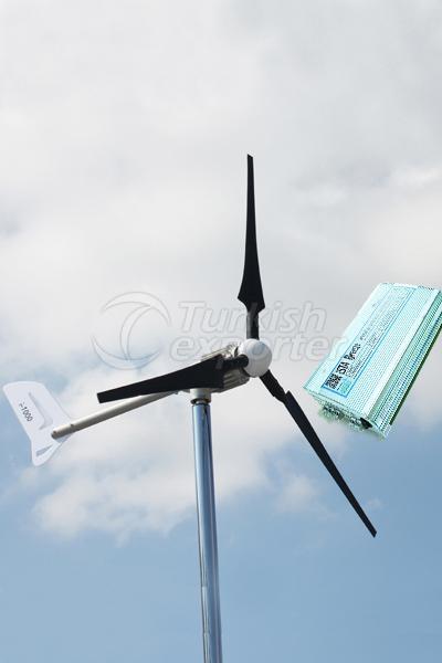 1Kw Turbine-24V Hybrid Controller