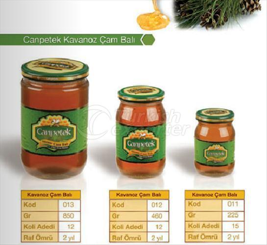 Pine Honey Jar Canpetek