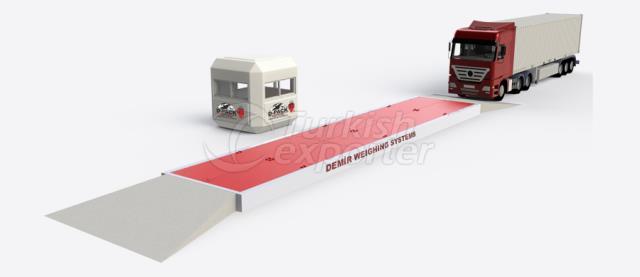 Modular Type Pit Weighbridge  -DMR