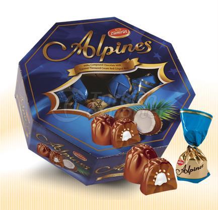 ALPINES- (مثمنة) -Coconut