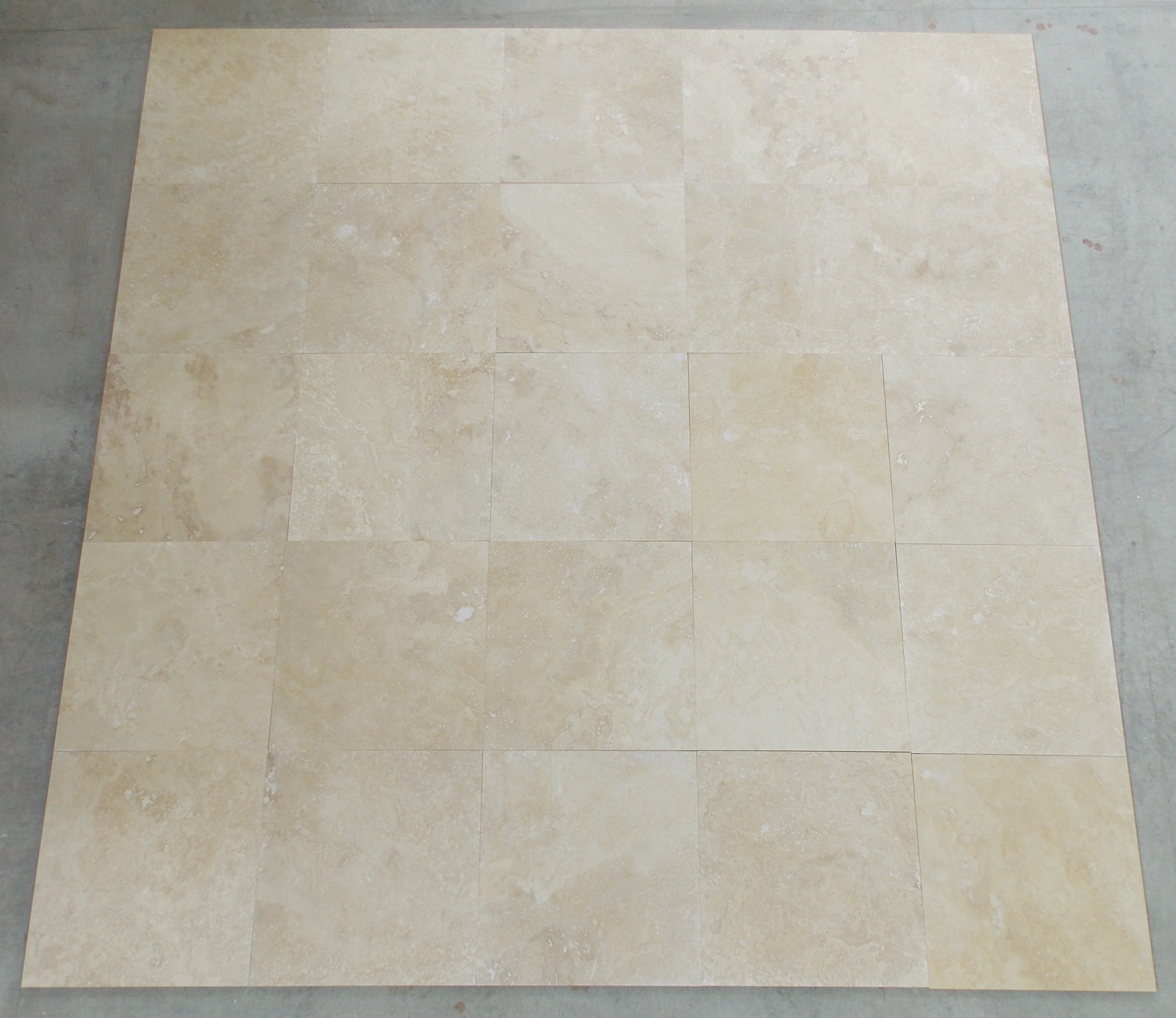 EXTRA LIGHT HONED AND FILLED TRAVERTINE TILES