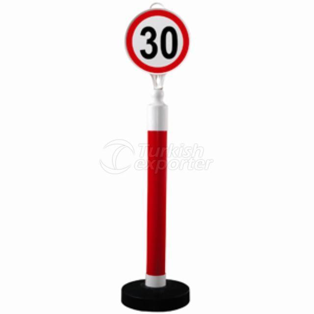 Trafik Uyarı ve Yönlendirme Dikmeleri