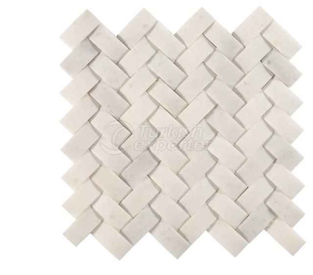 Herringbone  Braid Mosaic 2,3x4,8 Kemalpasa