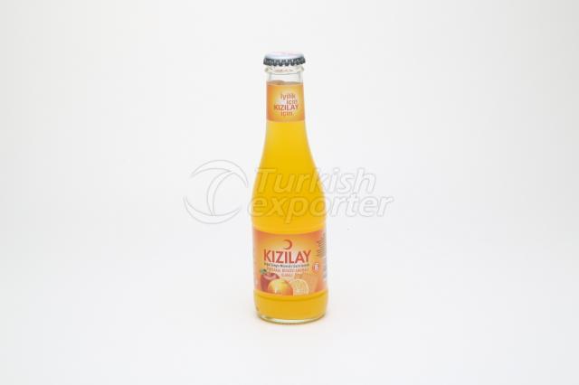 Água Mineral com sabor de laranja e maçã 20 cl