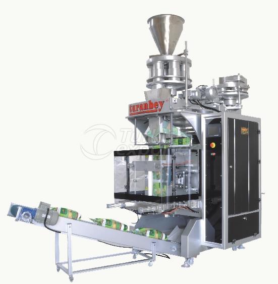 آلة التعبئة والتغليف الحجمي المزدوج
