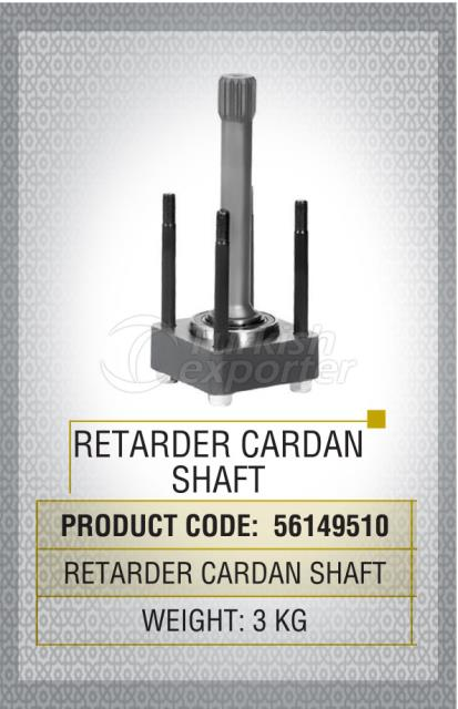 Retarder Cardan Shaft