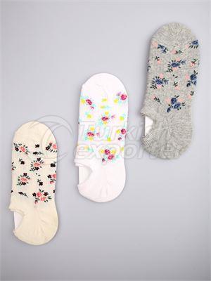 Women's Invisible Socks - 14465 (W78)